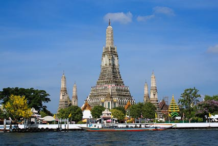 Wat Arun, or Temple of the Dawn