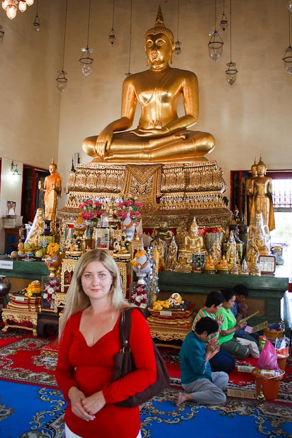 The Golden Buddha in Wat Traimit