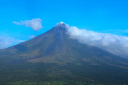The famed Mayon