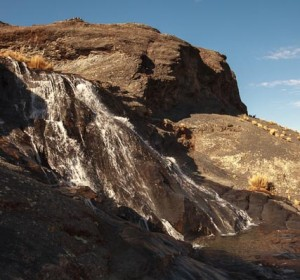 Upper Portion of the Kormiri Falls