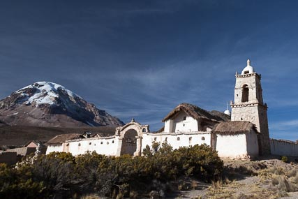 Capilla de Tomarapi, Tomarapi, Sajama National Park, repaired in 2011